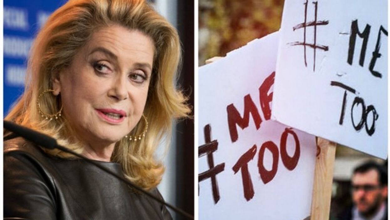 Catherine Deneuve and #MeToo protesters
