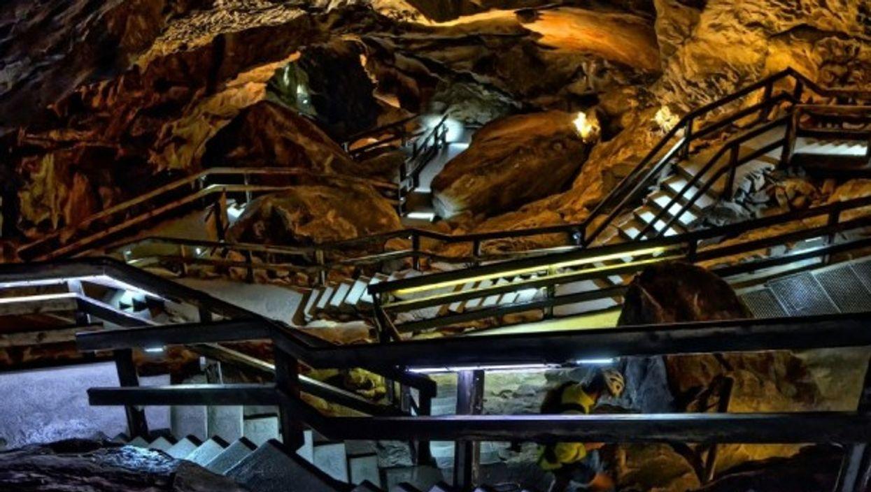 Cave Hohler Felsin the Swabian Alps