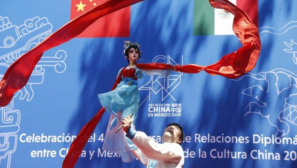 Celebrating China/Mexico diplomatic ties