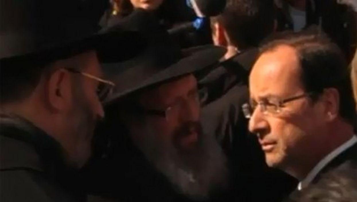 Celebrating Hollande's victory (romytetue)