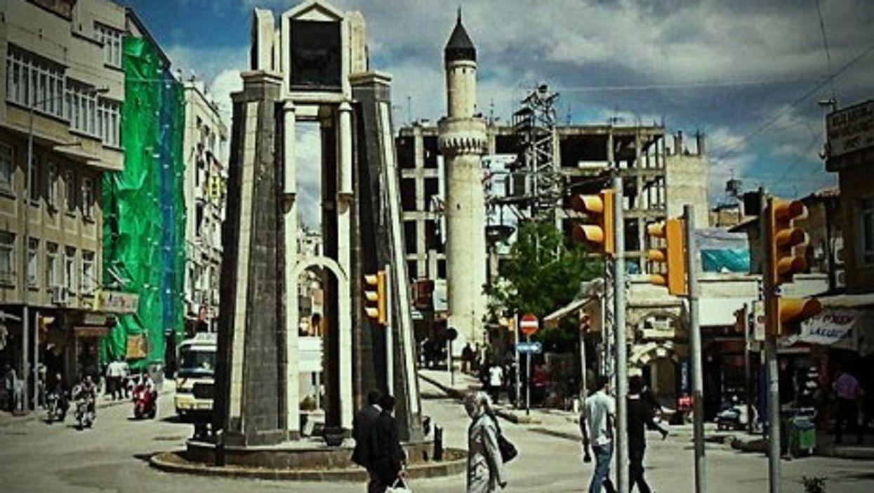Center of Kilis, Turkey, near the Syrian border