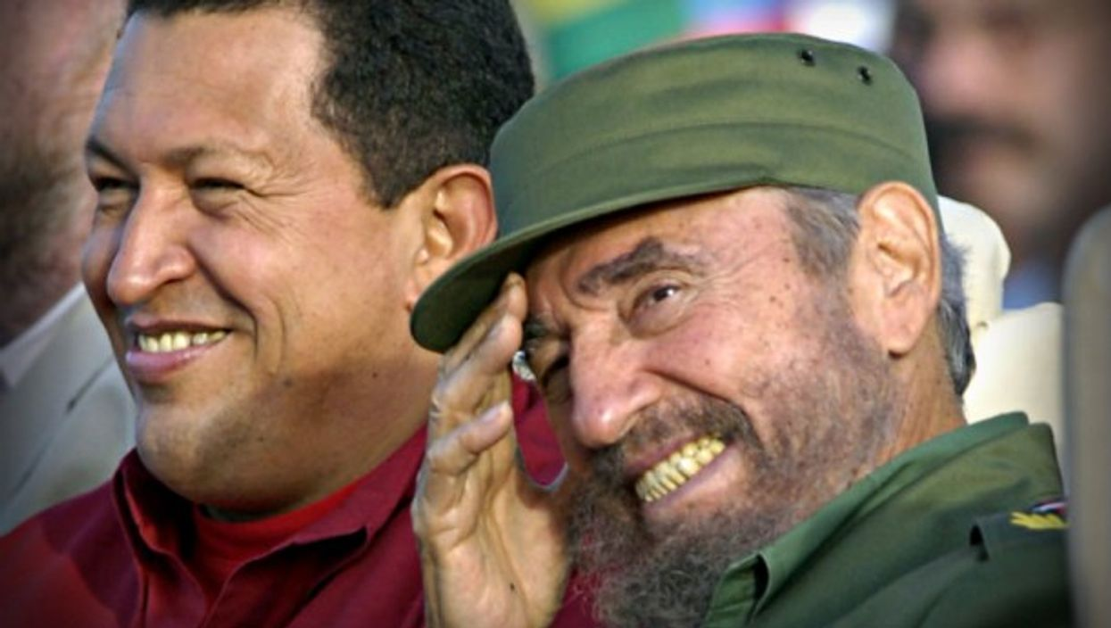 Chavez and Castro in 2006