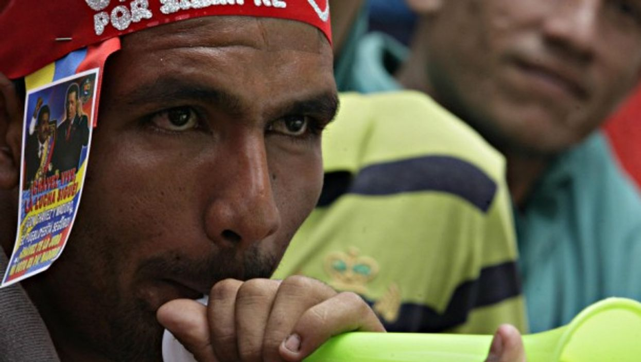 'Chavez for ever'?