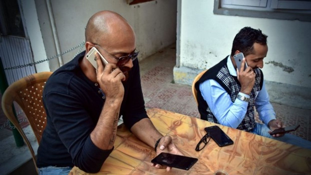 Checking if service is restored in Kashmir