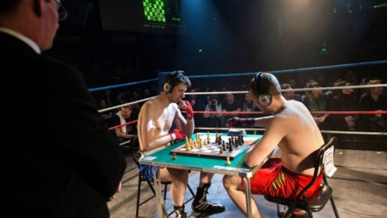 Chessboxing bout in London