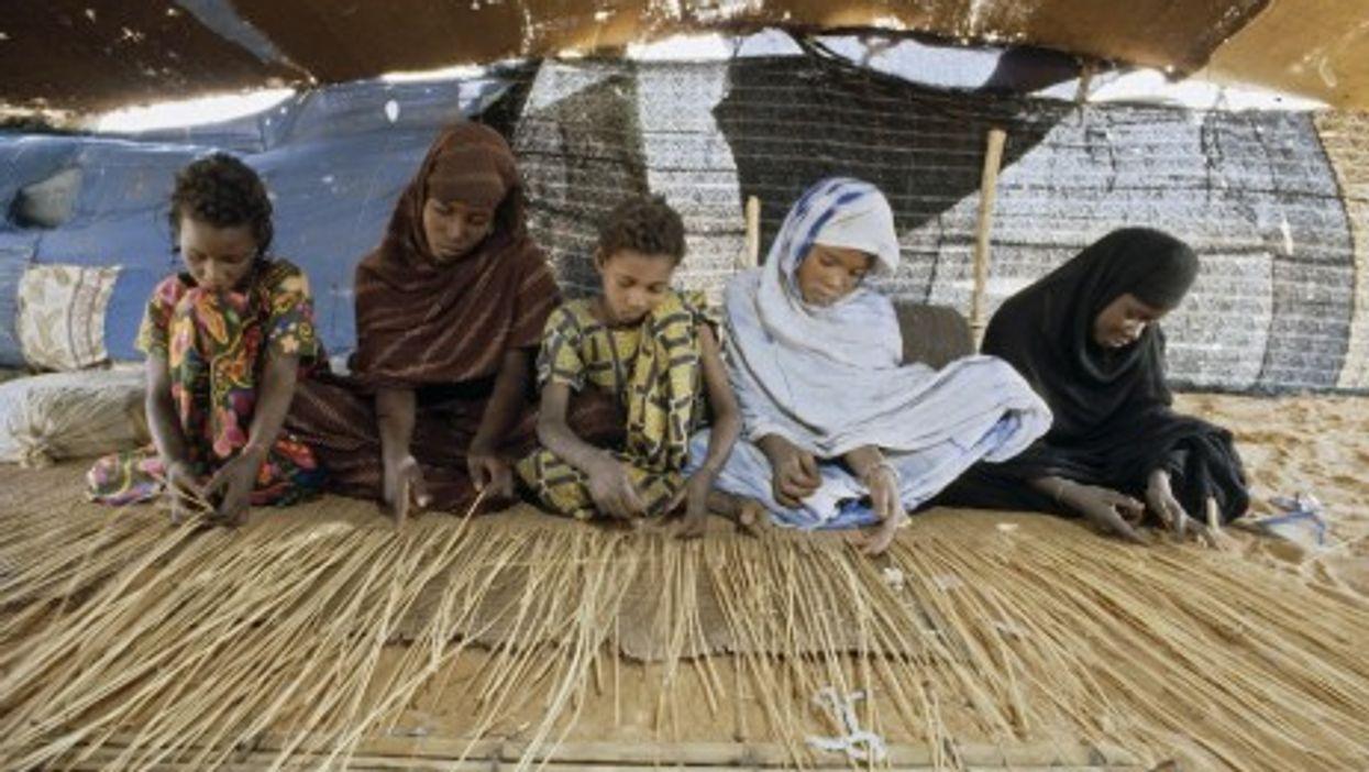 Child labor in Mauritania (UN/Jean Pierre Laffont)