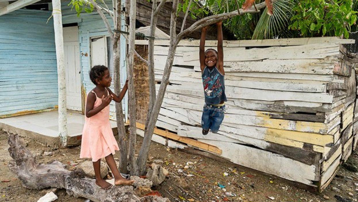 Children in Cartagena, Colombia