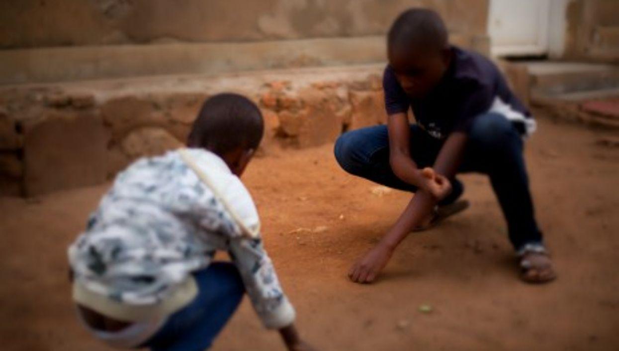 Children playing in Rwanda