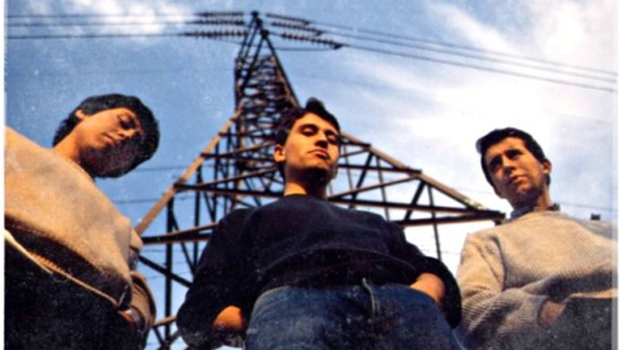 Chilean band Los Prisioneros, leaders of Latin American rock in the 1980s