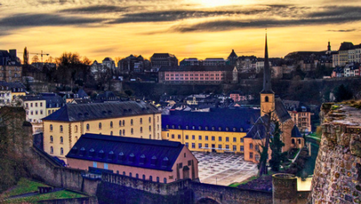 Chilly skies over Luxembourg?