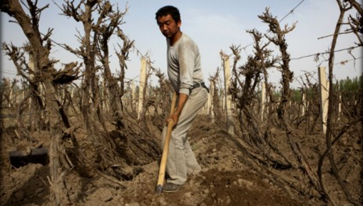China already has air and water pollution prevention laws -- but so far nothing regarding soil pollution