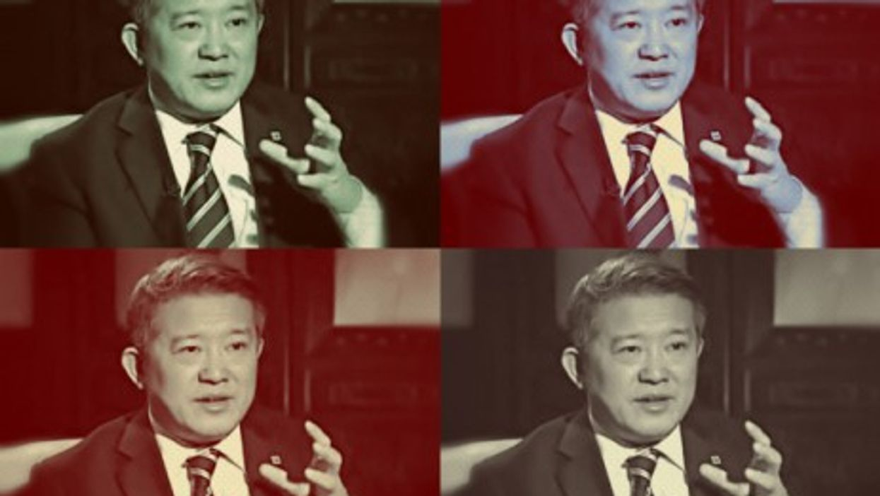 China Guardian Auctions, Kangtai Life and ZJS Express founder Chen Dongsheng