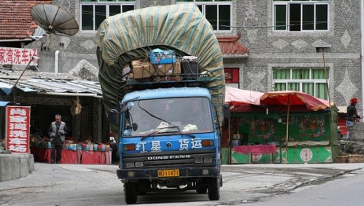 China was never known for state-of-the-art trucks