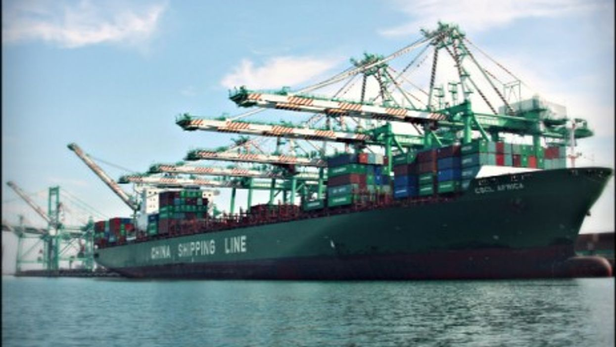 China's CSCL Africa tanker