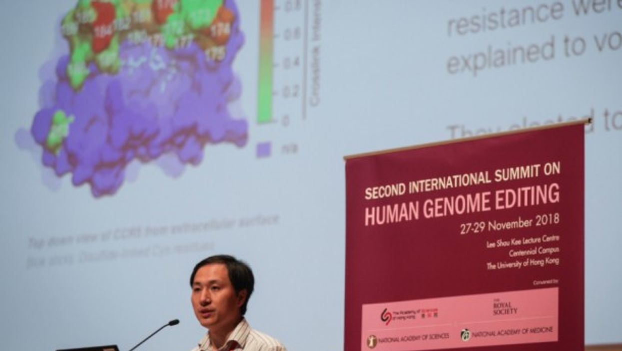 Chinese geneticist He Jiankui claims to have made the first gene-edited babies
