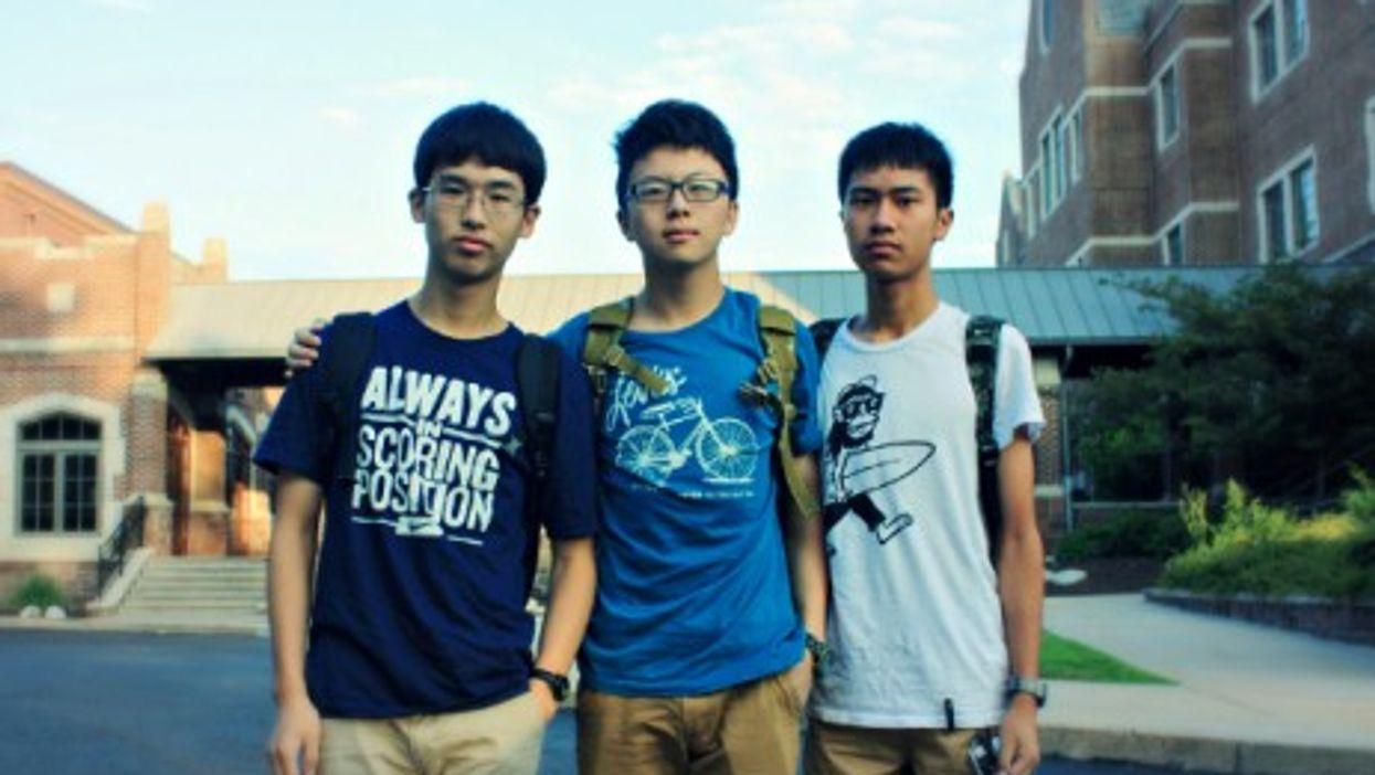 Chinese students in Pottstown, Pennsylvania