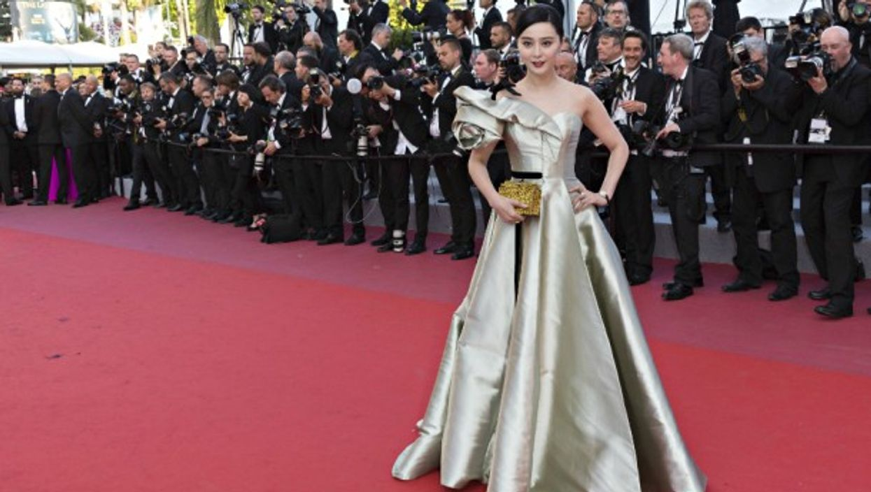 Chinese superstar Fan Bingbing at the 71st Cannes Film Festival