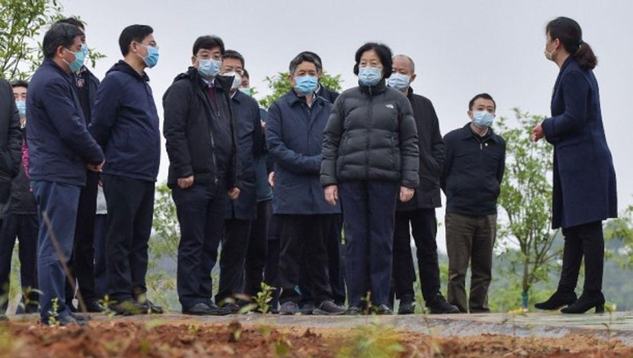 Chinese Vice Premier Sun Chunlan visits Wuhan this week.