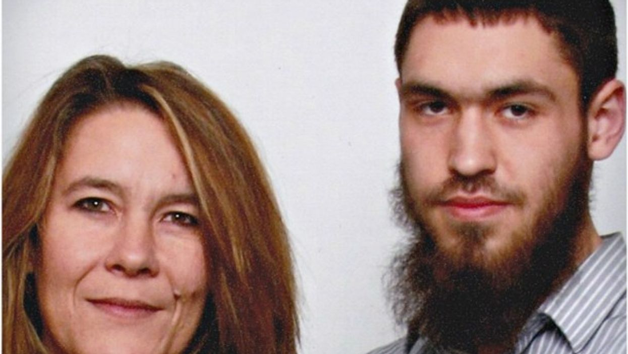 Christianne Boudreau and her son Damian Clairmont
