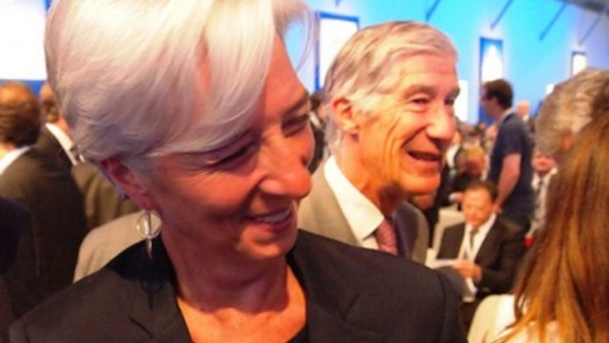 Christine Lagarde at the 2011 e-G8 Forum