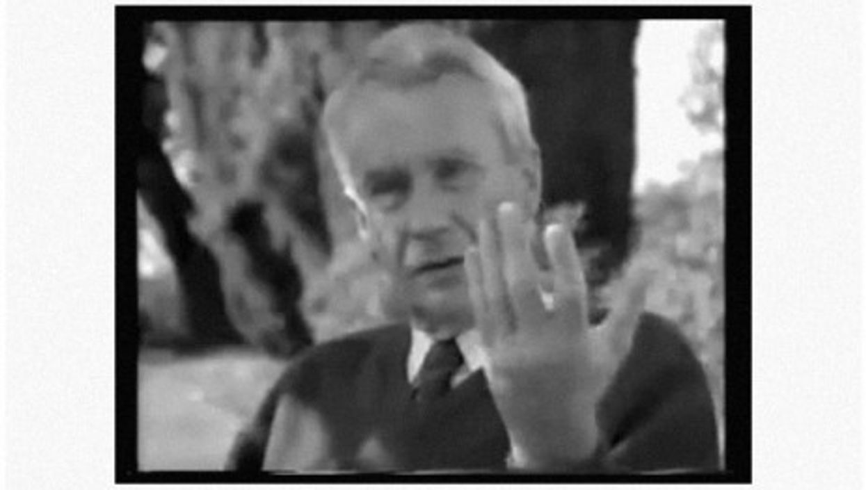 Christopher Tolkien in 1996