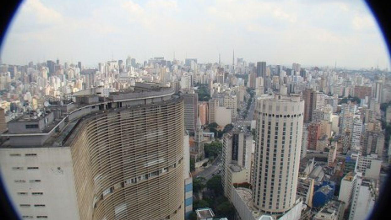 City skyline in Sao Paulo, Brazil