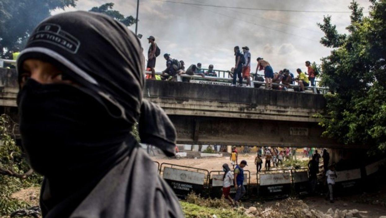 Clashes at the Colombia-Venezuela border