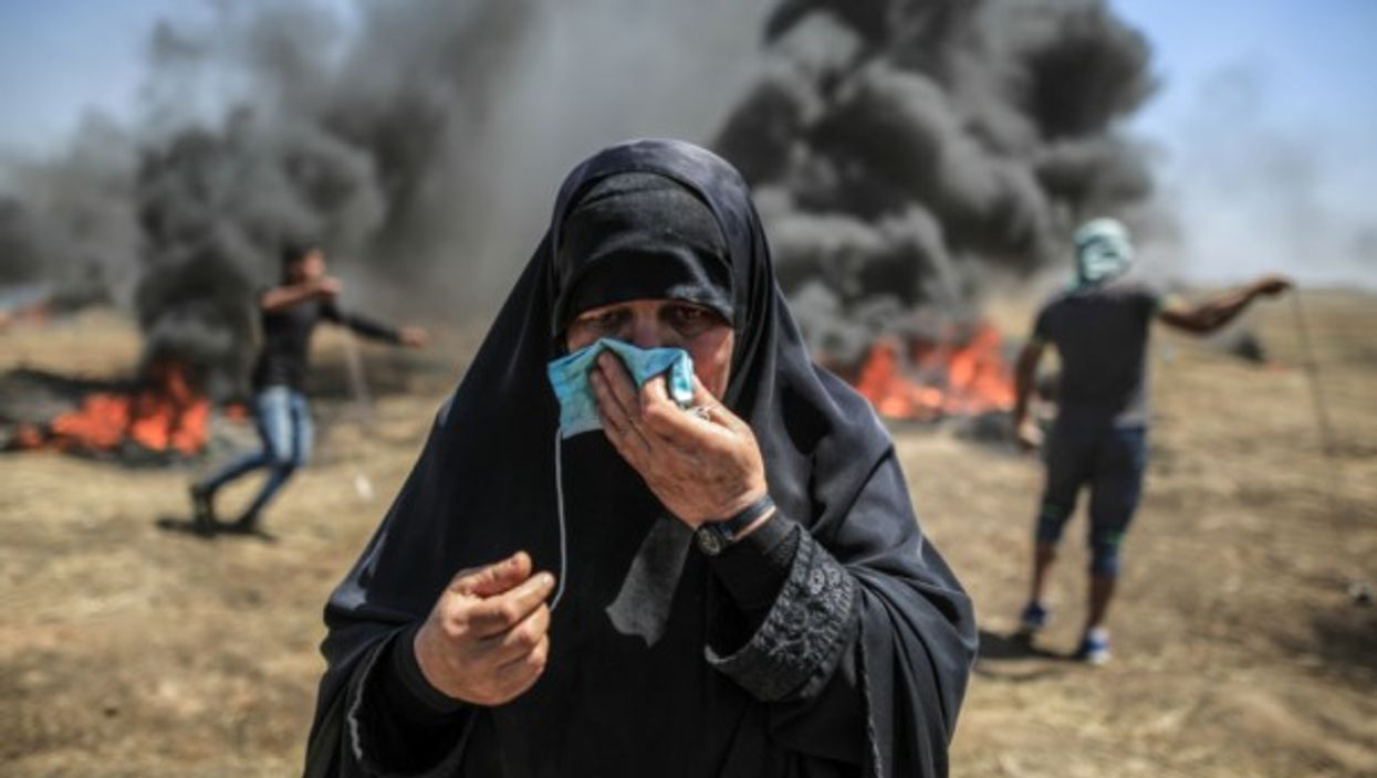 Clashes in Gaza on May 14