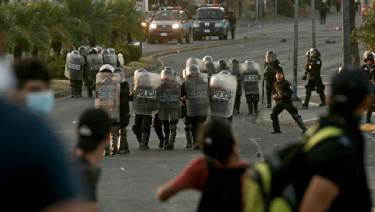 Clashes in Managua