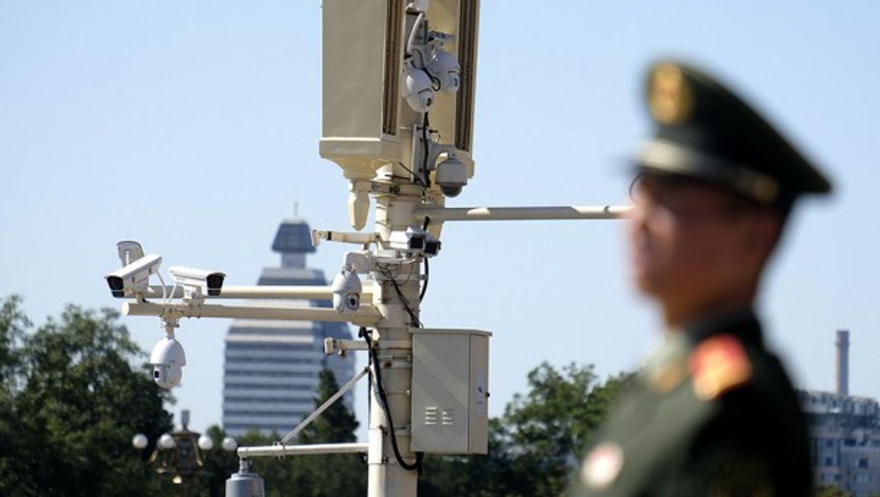 Closed-Circuit Televisions (CCTV) at Tiananmen Square