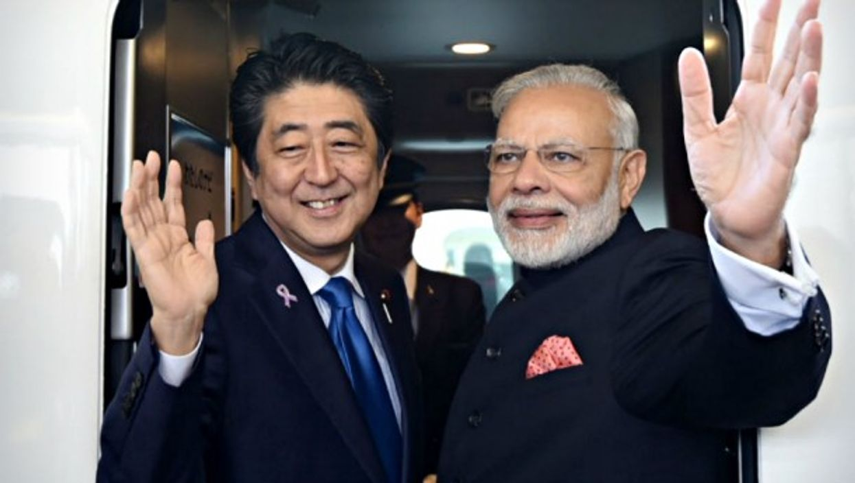 Closer than ever, Japan's Abe and India's Modi