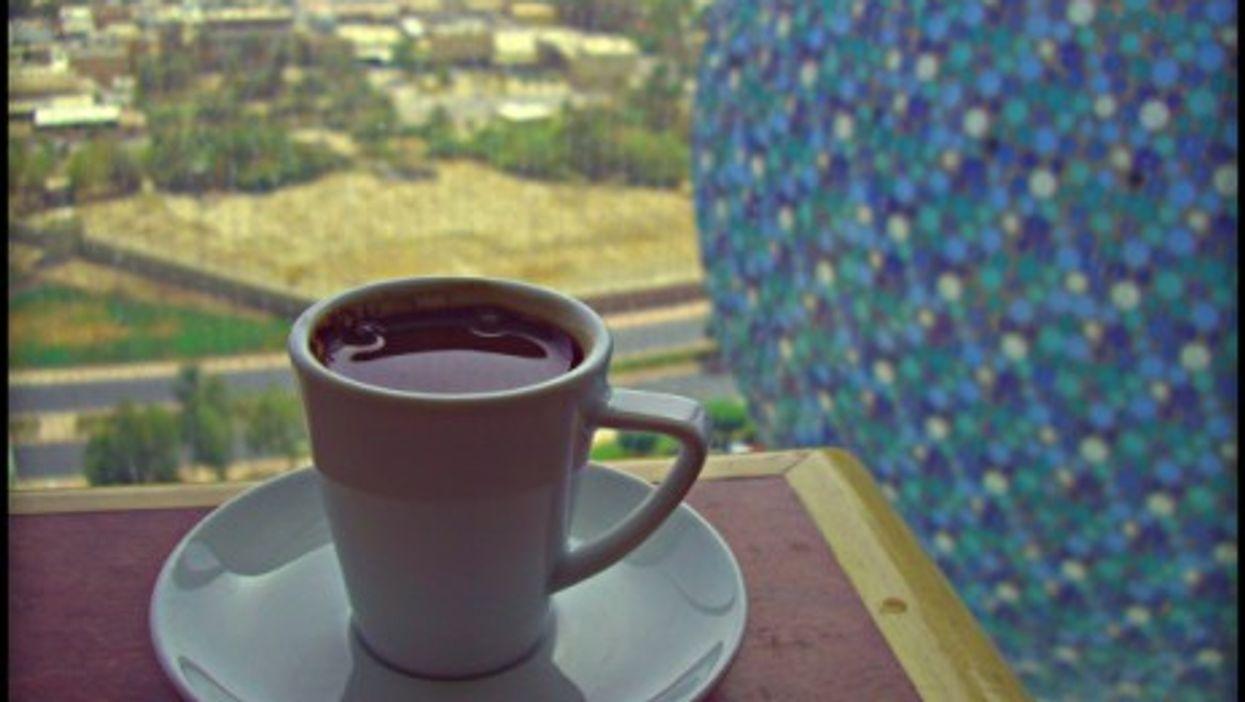 Coffee at Kuwait City's Kuait Towers