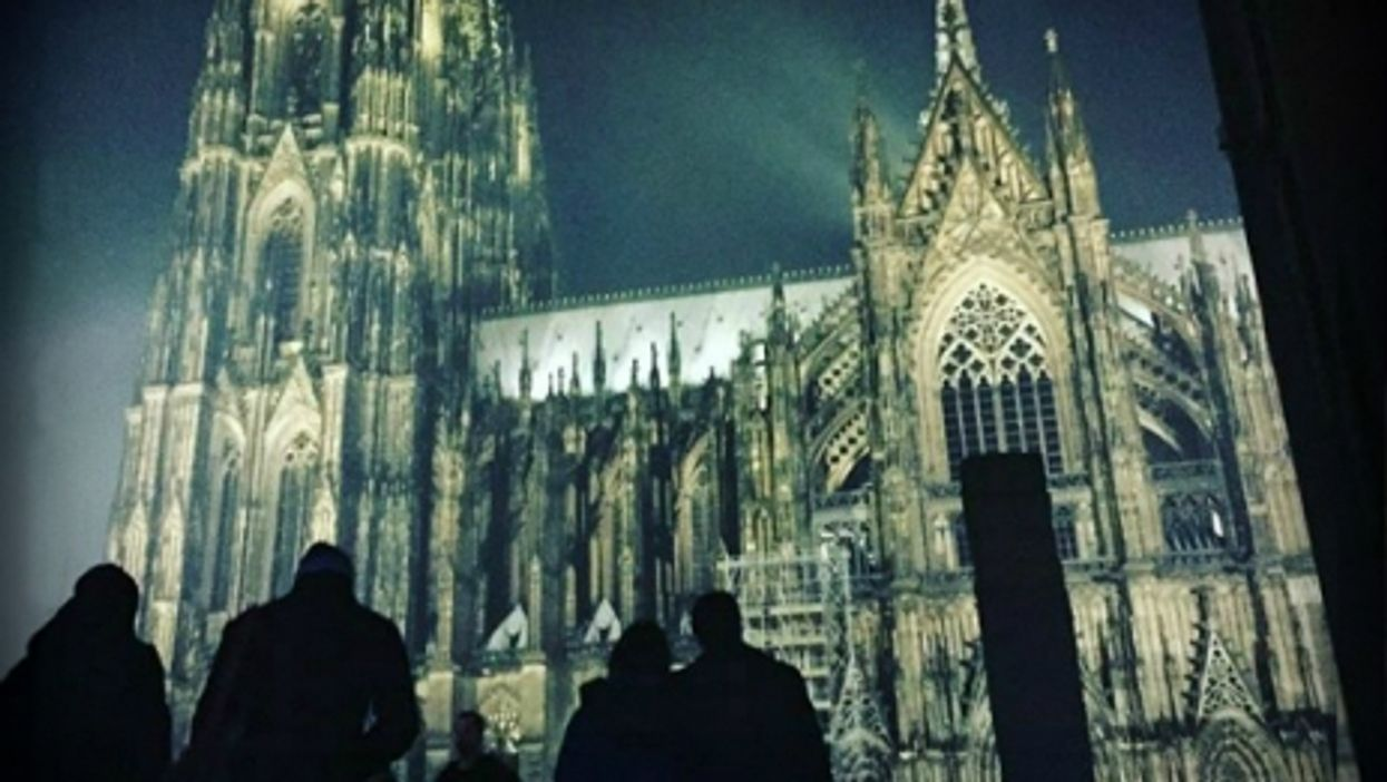 Cologne's cathedral, where violence happened on NYE