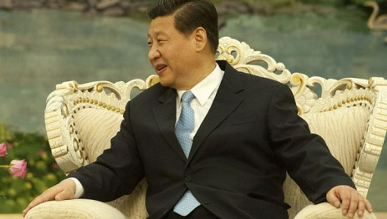 Communist party leader Xi Jinping's softer look