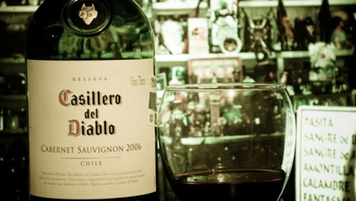 Concha del Toro, a Chilean wine producer, moved up in the ranking after buying vineyards in California.