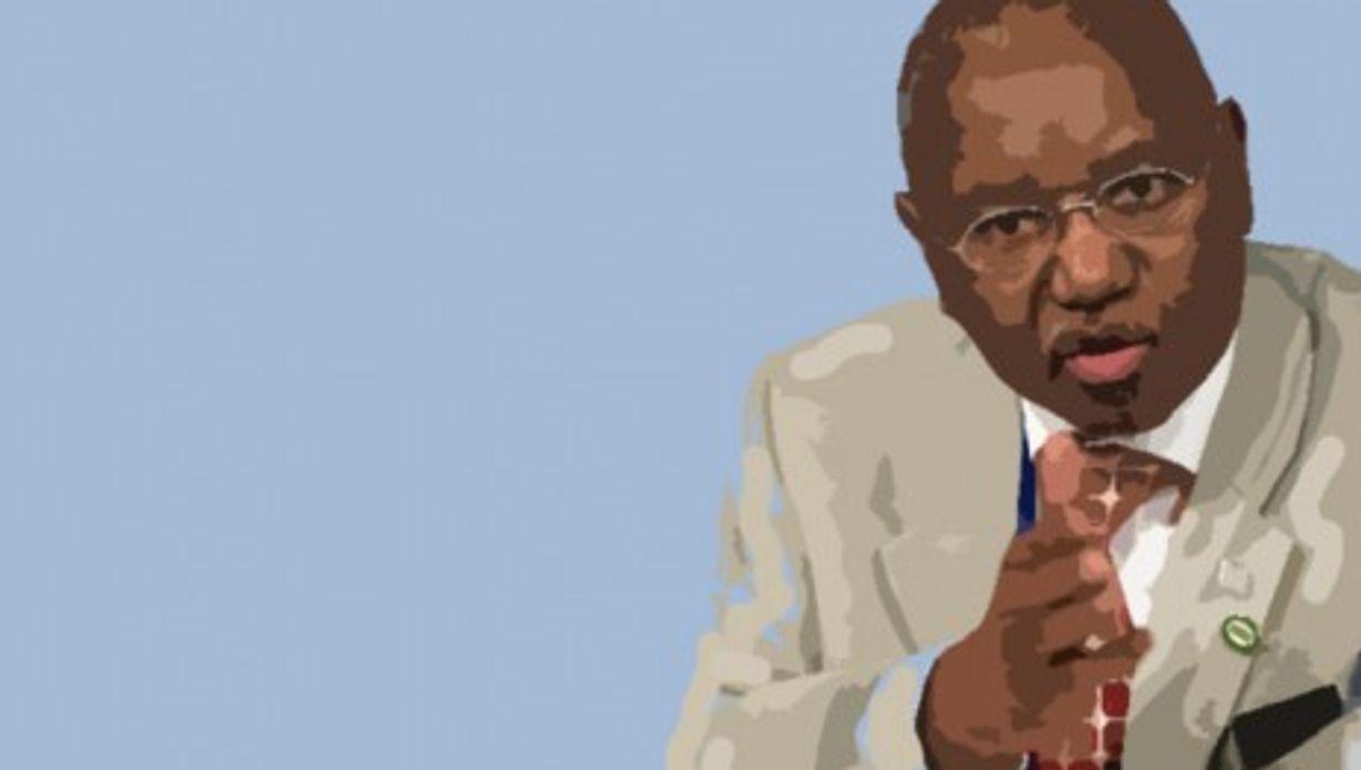 Congo's Central Bank President Jean-Claude Masangu Mulongo