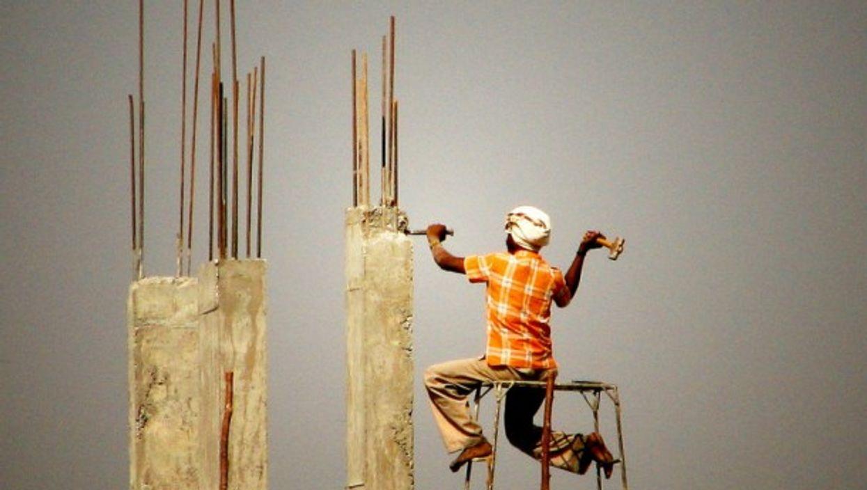 Construction in Hyderabad