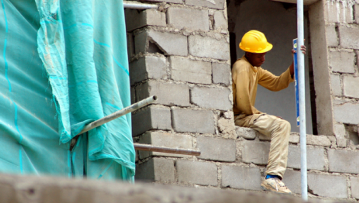 Construction in Kigali