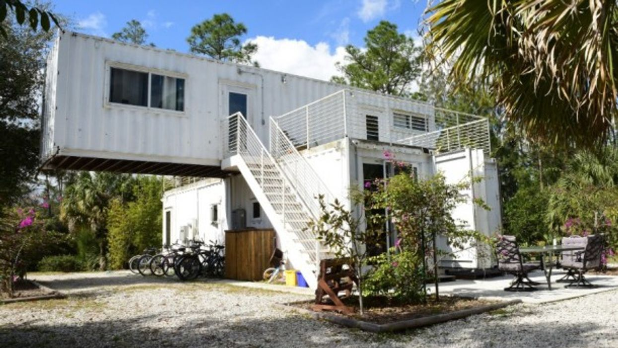 Container homes are catching on in many places