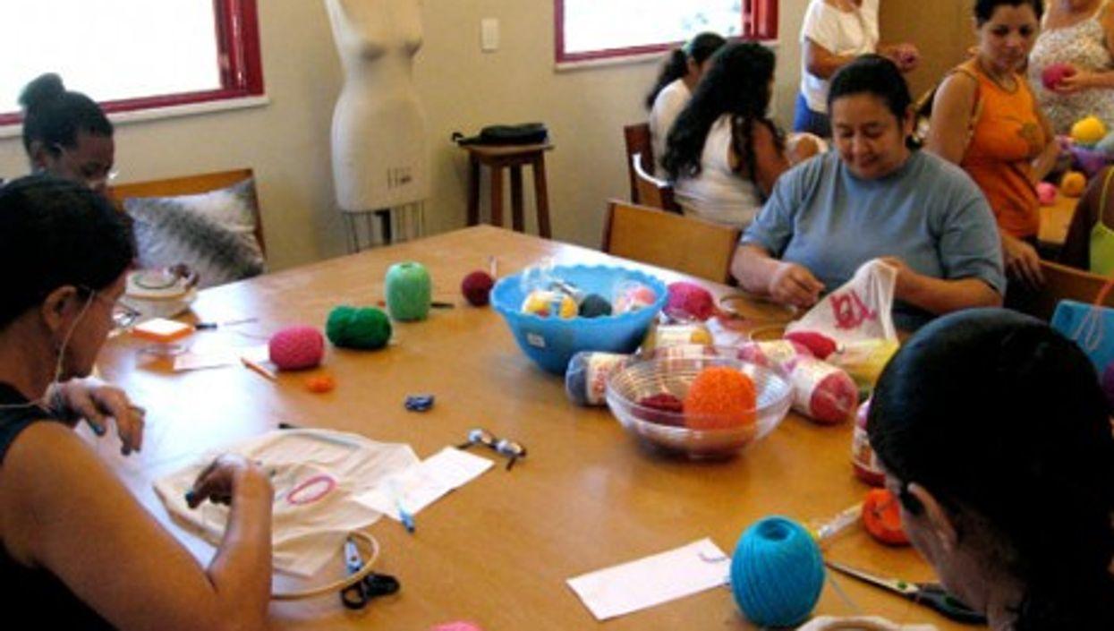 Coopa-Ropa workshop (Instituto Rio Moda)