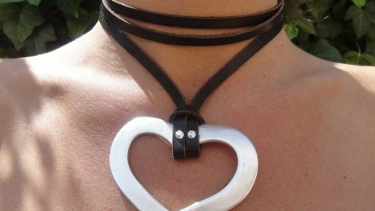 Could a silver heart keep tabs on your real one? (Photo by InExtremiss)