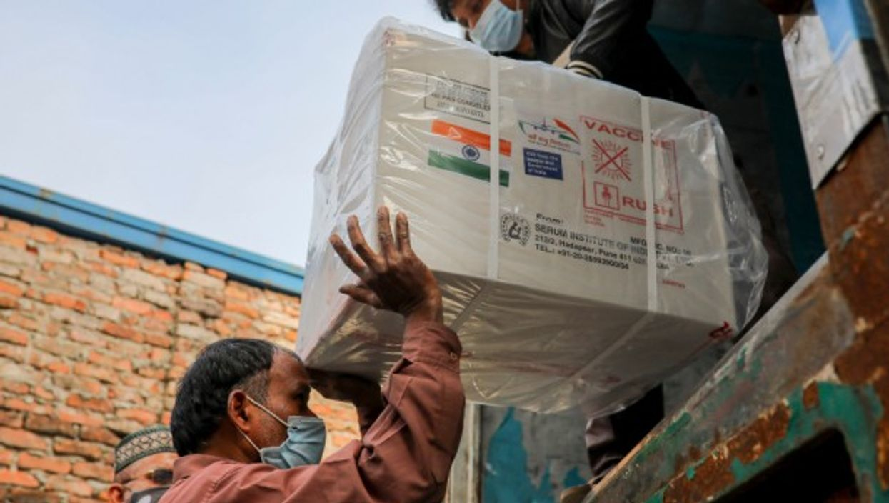 COVID-19 vaccines arriving from India as a gift to Bangladesh