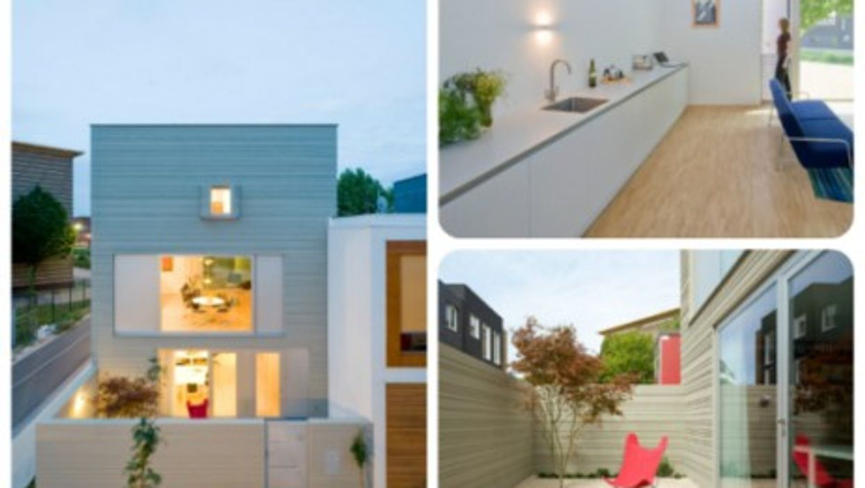 Creating an impression of spaciousness and comfort in a small house.