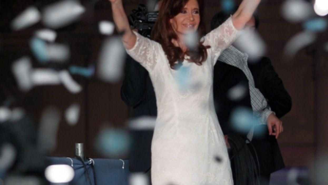 Cristina Kirchner in December 2015