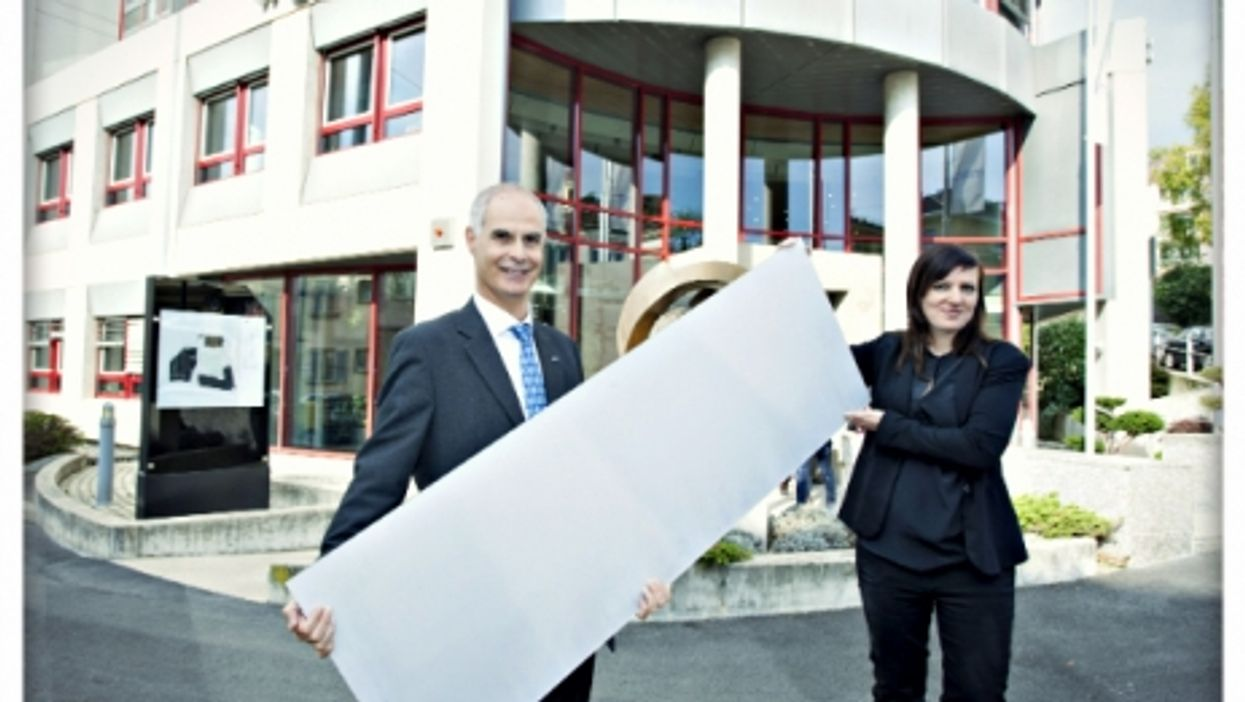CSEM's new white solar panels
