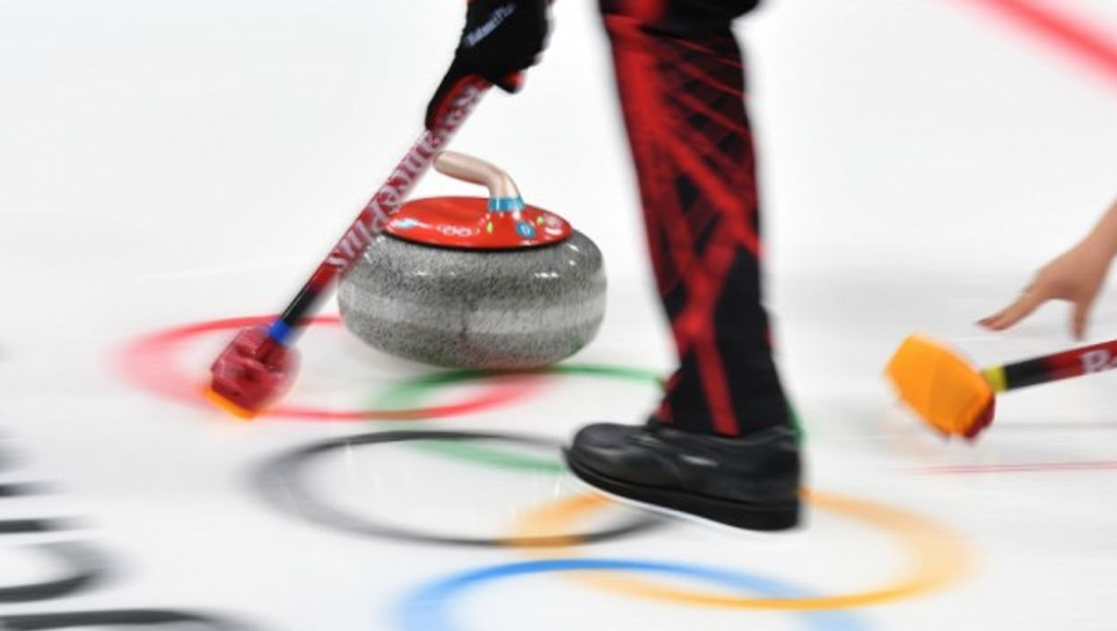 Curling in PyeongChang on Feb. 8