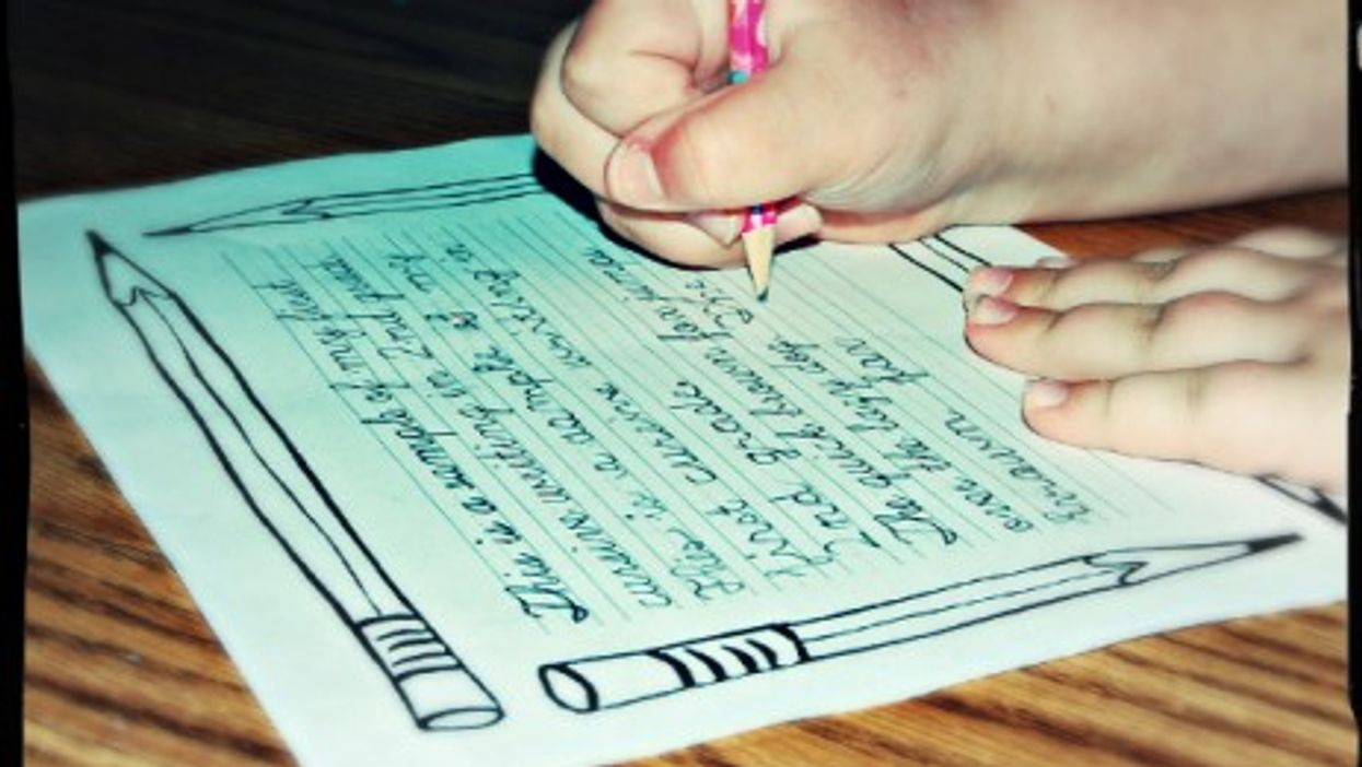 Cursive writing could use a hand