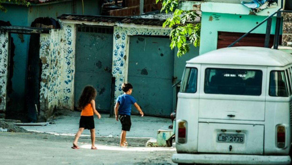 Daily life in Favela do Alemao, Rio de Janeiro