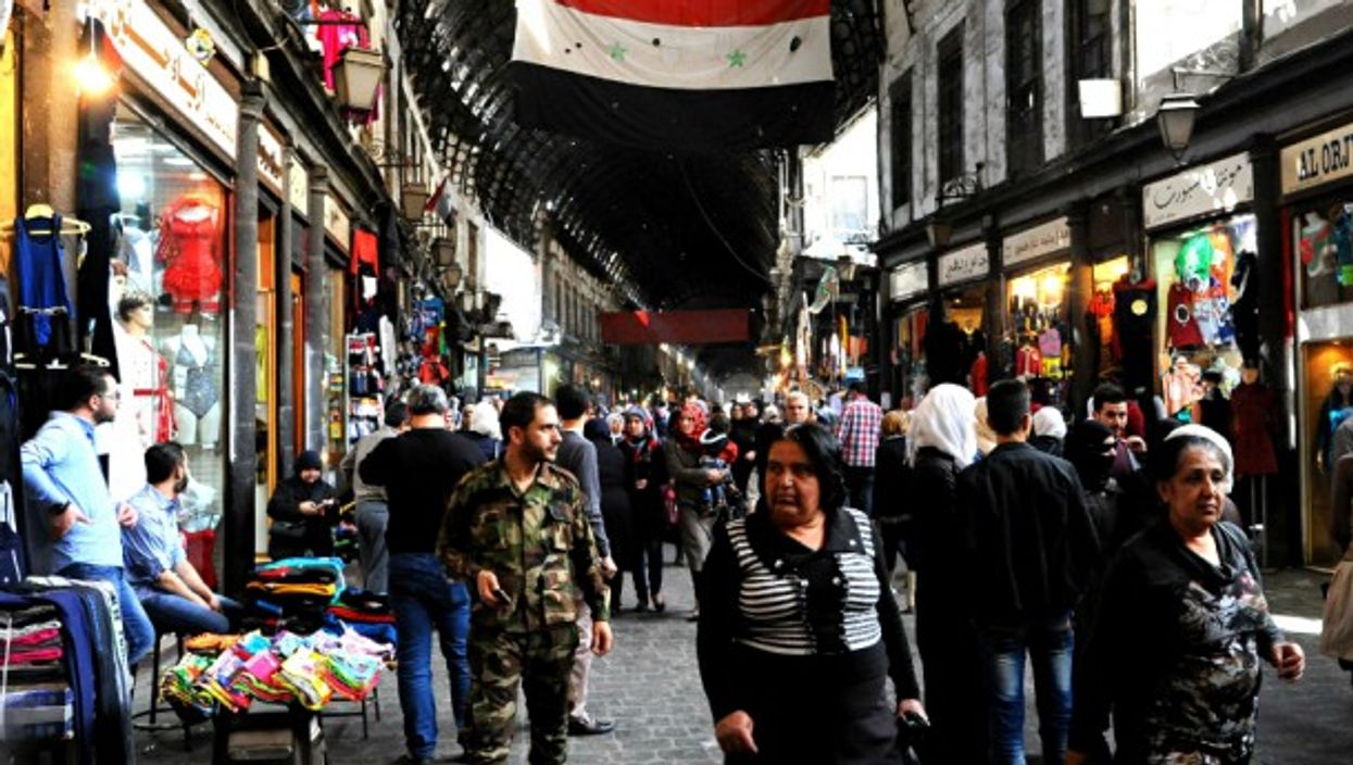 Damascus' old quarter