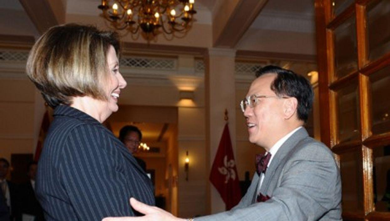 Dancing with the Stars: Nancy Pelosi and Donald Tsang